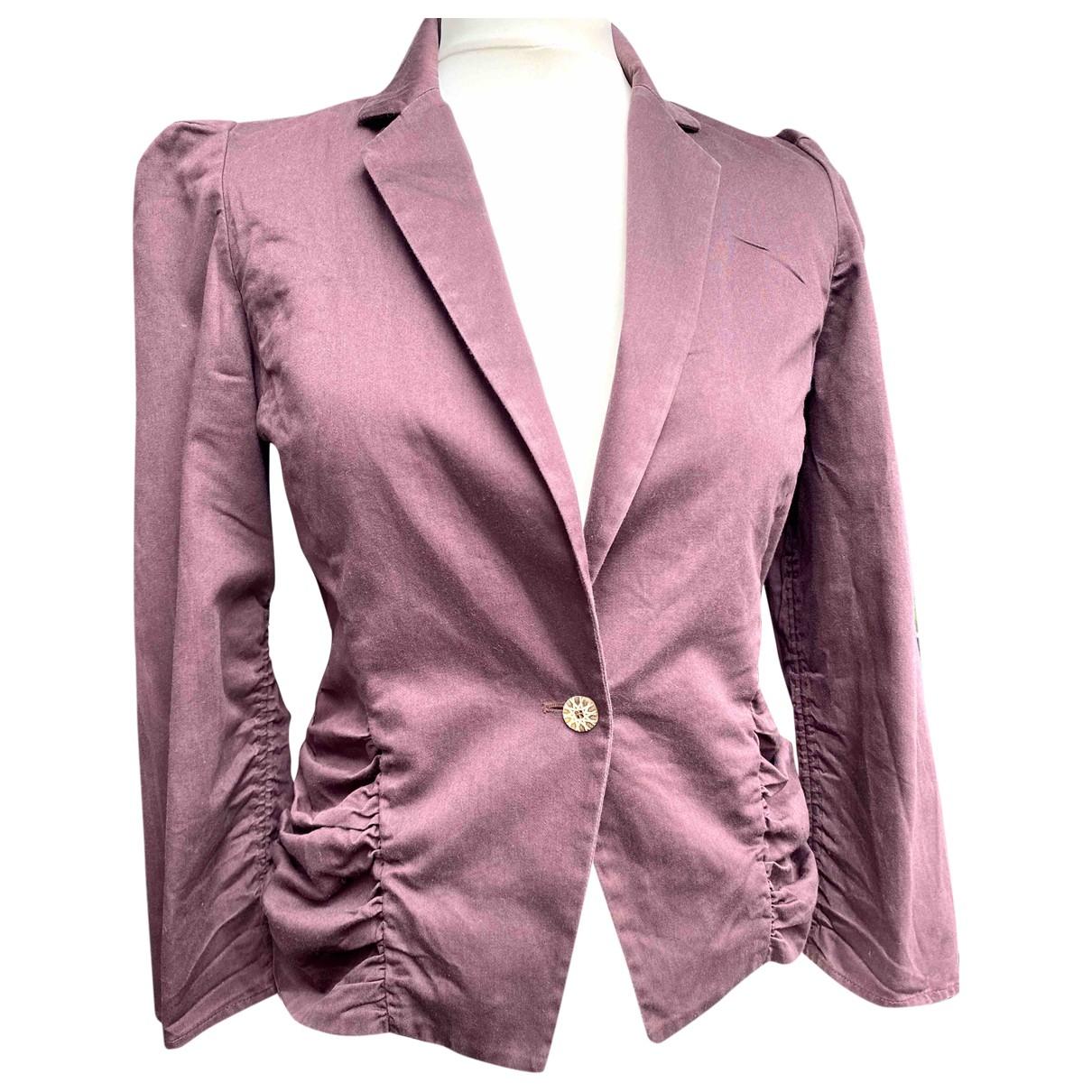 Kenzo - Veste   pour femme en coton - violet
