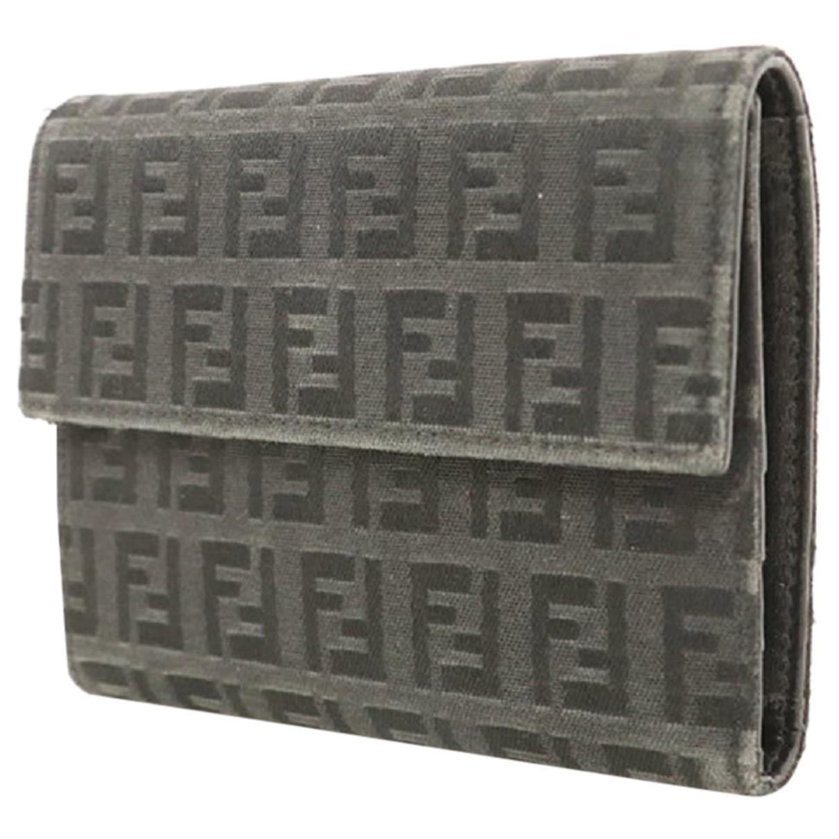 Fendi - Portefeuille   pour femme en cuir
