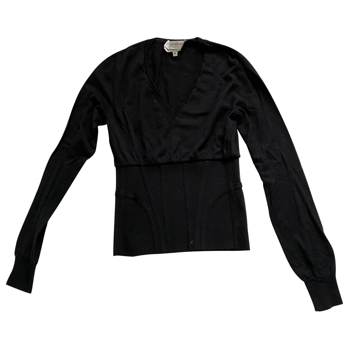 Yves Saint Laurent \N Black Wool Knitwear for Women M International