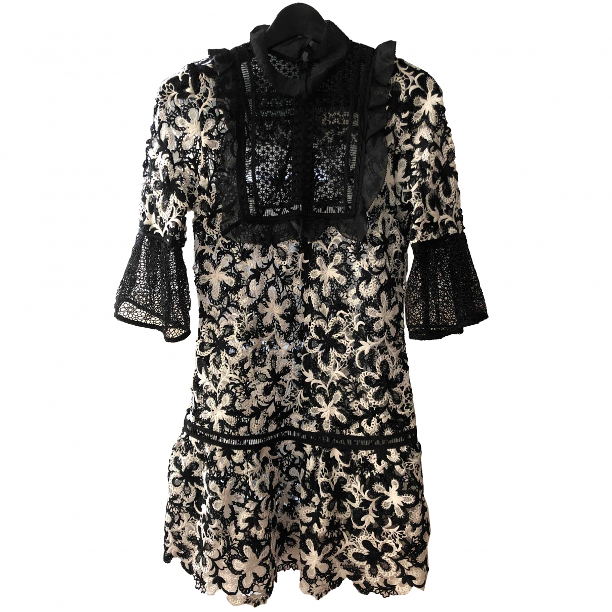 Self Portrait \N Black Lace dress for Women 8 UK
