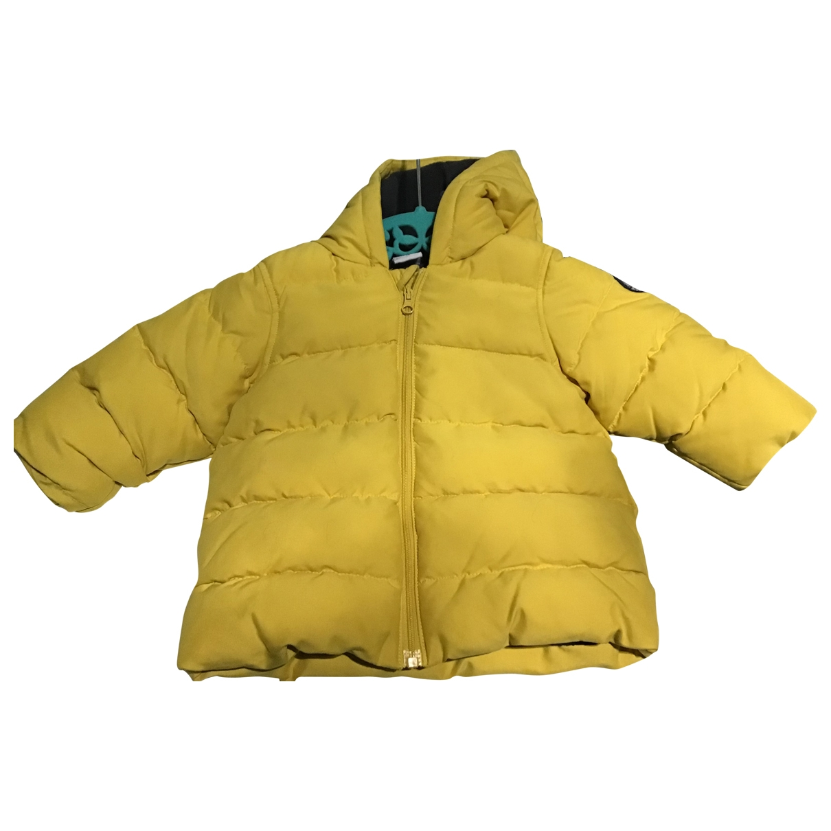 Petit Bateau \N Yellow Cotton jacket & coat for Kids 6 months - up to 67cm FR
