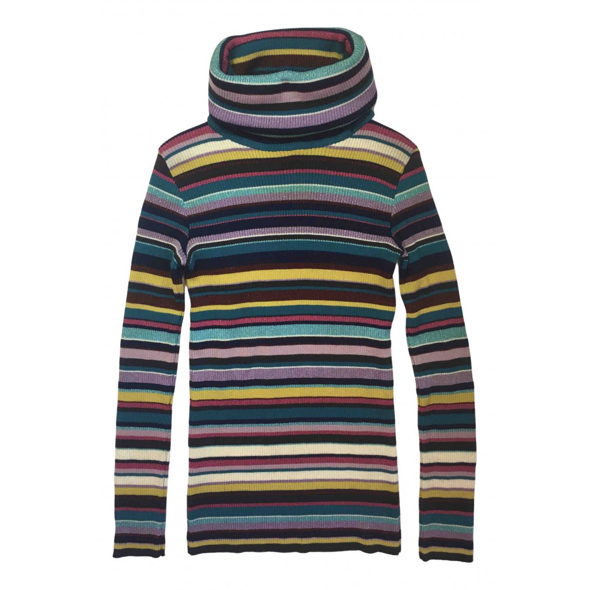 D&g N Multicolour Wool Knitwear for Women 44 IT