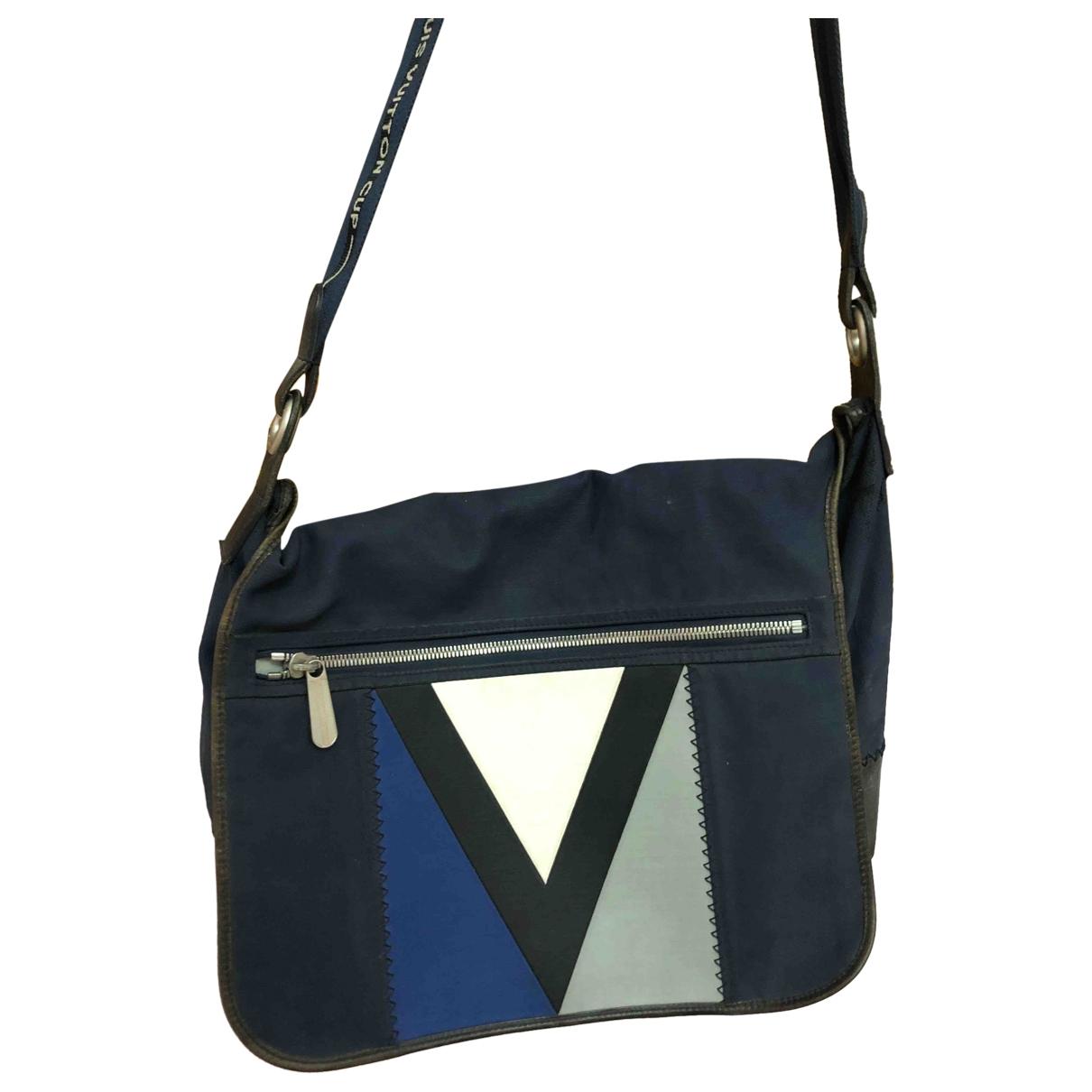 Louis Vuitton - Sac   pour homme en toile - marine