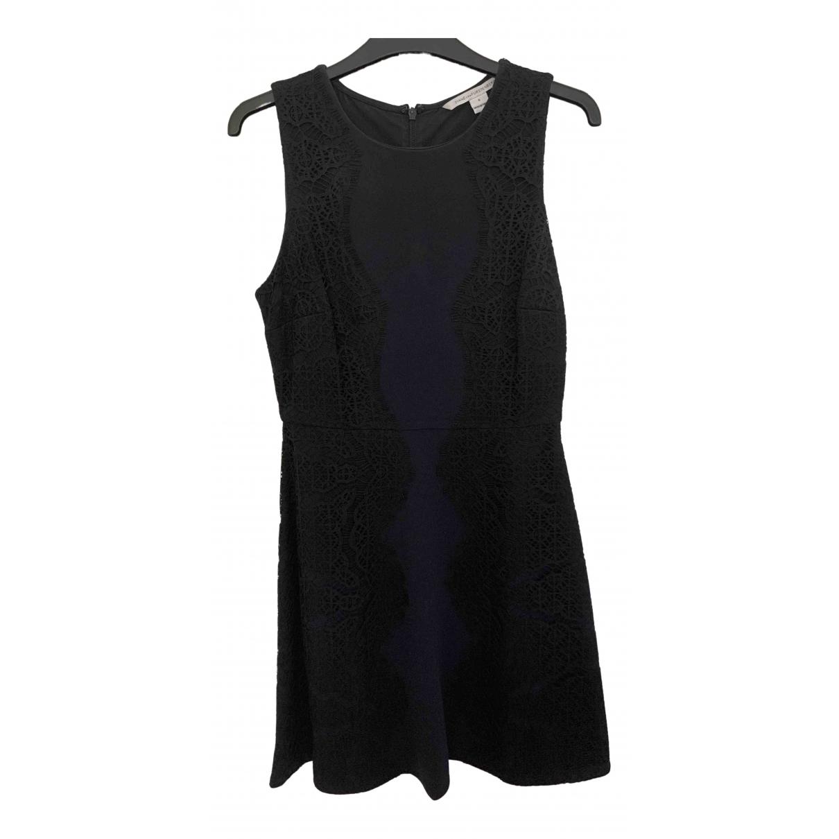 Diane Von Furstenberg \N Kleid in  Marine Polyester