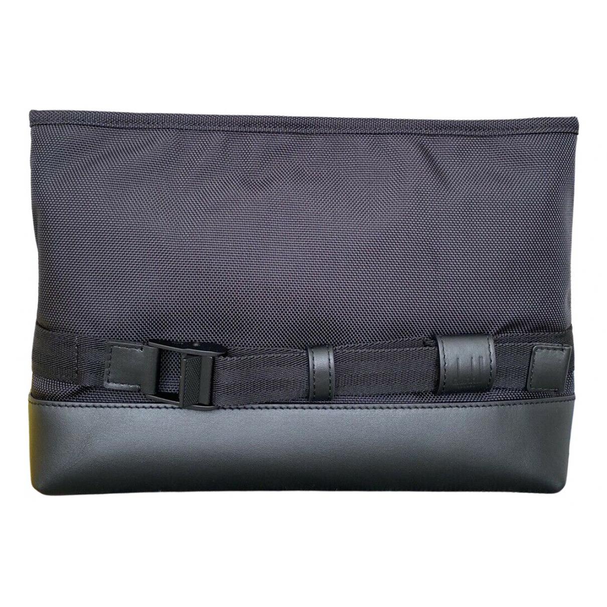 Alfred Dunhill \N Black Cotton bag for Men \N