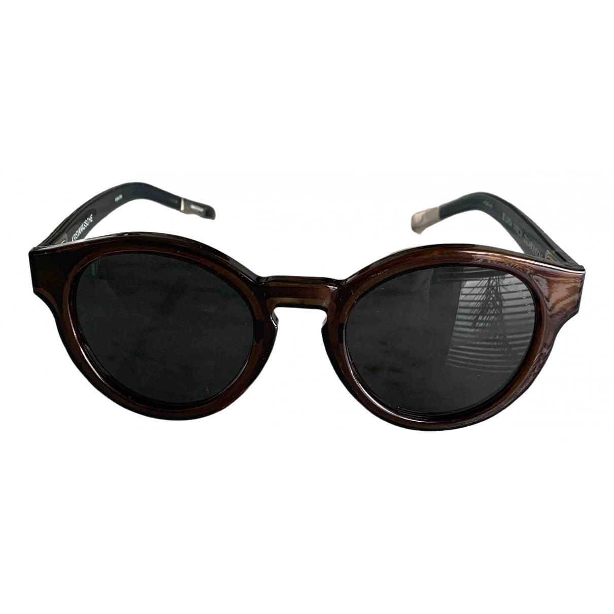Kris Van Assche \N Brown Sunglasses for Women \N