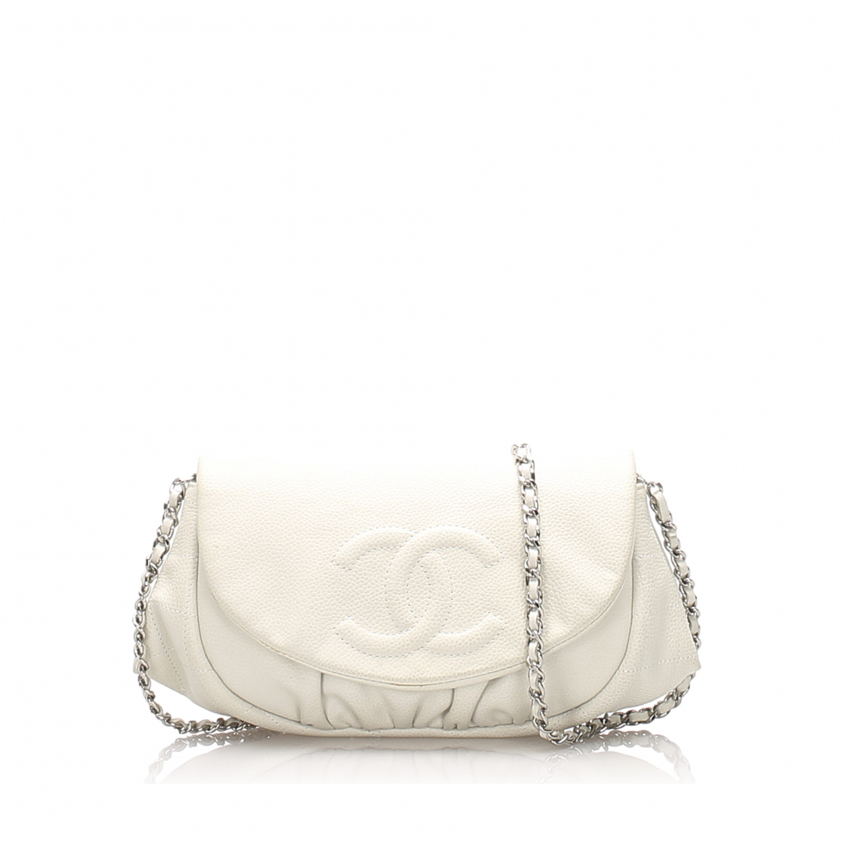 Chanel \N White Leather wallet for Women \N