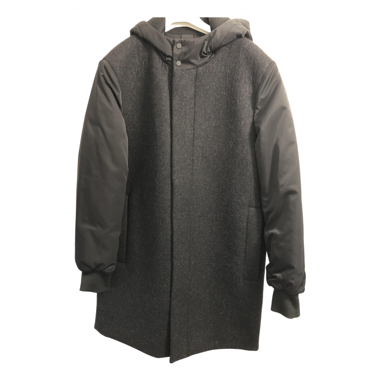 Cos - Manteau   pour homme - noir