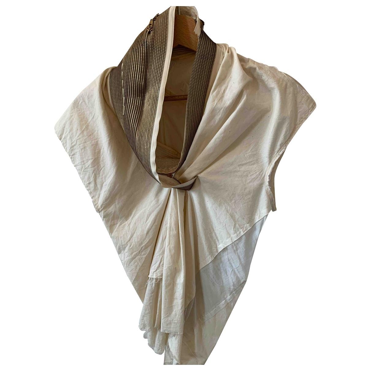Comme Des Garcons \N White Cotton  top for Women M International