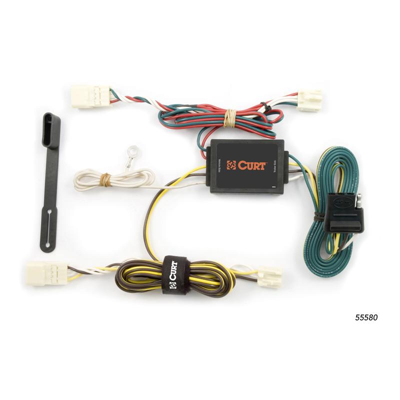 Curt 55580 Custom Wiring Harness (4-Way Flat Output)