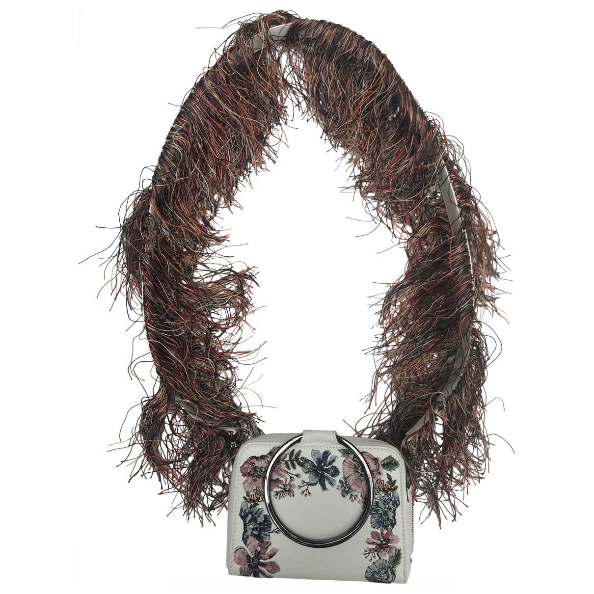 Charles & Keith N White Leather handbag for Women N