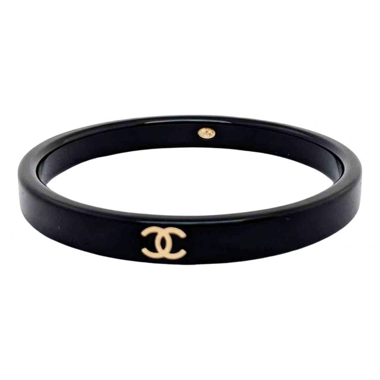Chanel - Bracelet CC pour femme - noir