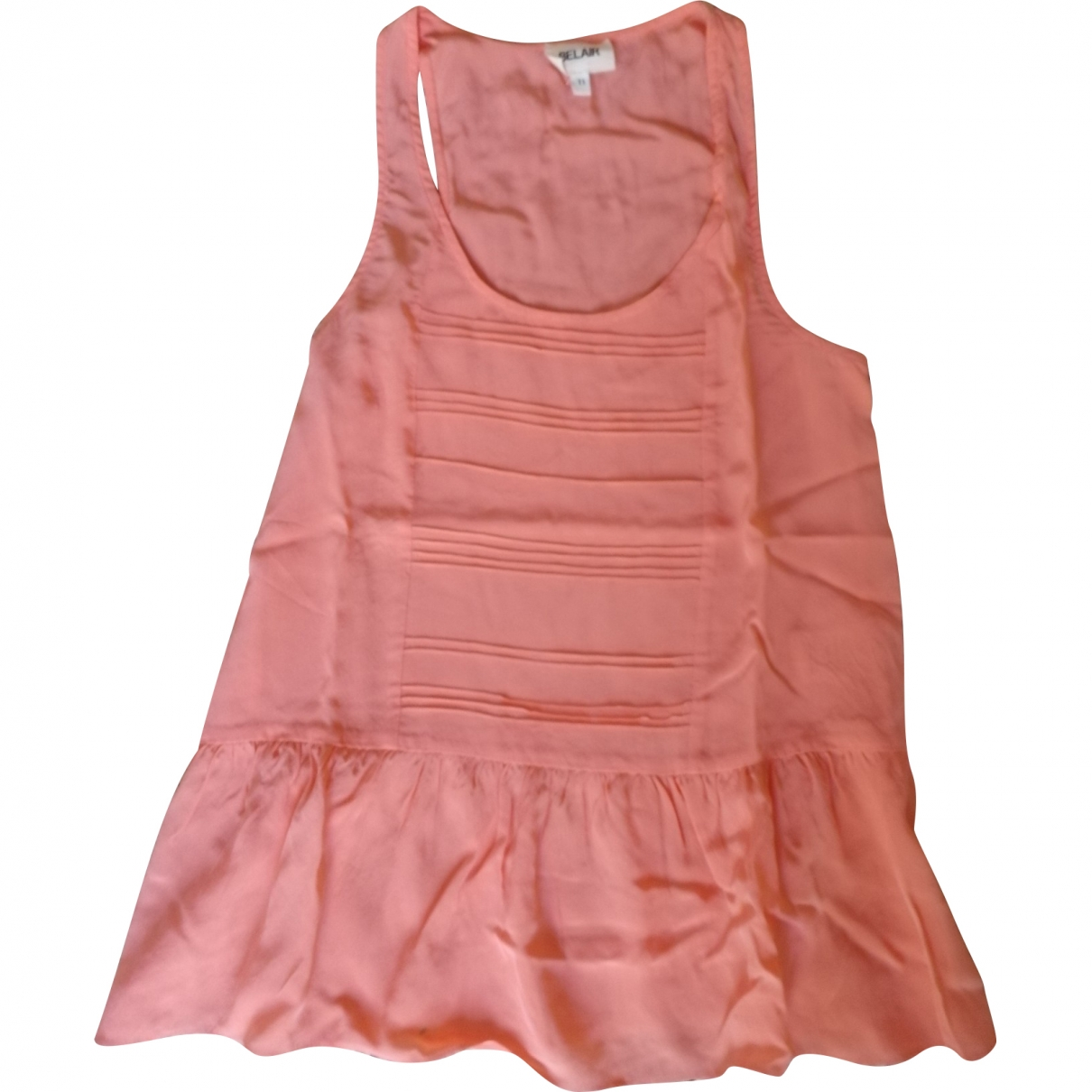 Bel Air \N Orange Silk  top for Women 36 FR