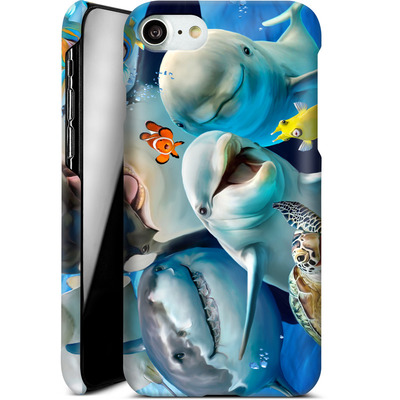 Apple iPhone 7 Smartphone Huelle - Ocean Selfie von Howard Robinson