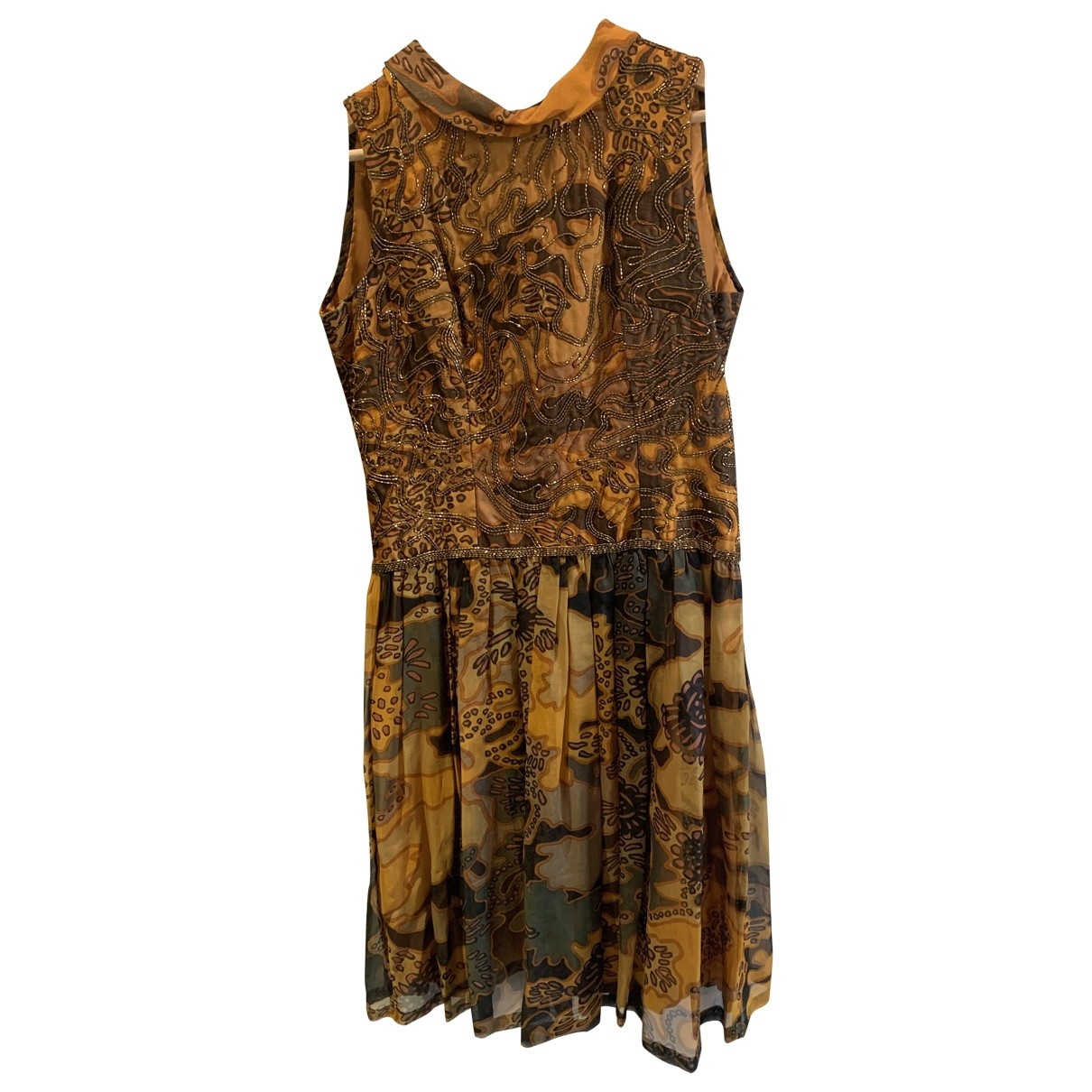 Nina Ricci \N Multicolour Silk dress for Women 36 FR