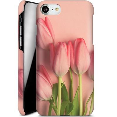 Apple iPhone 7 Smartphone Huelle - Pink Tulips von Joy StClaire