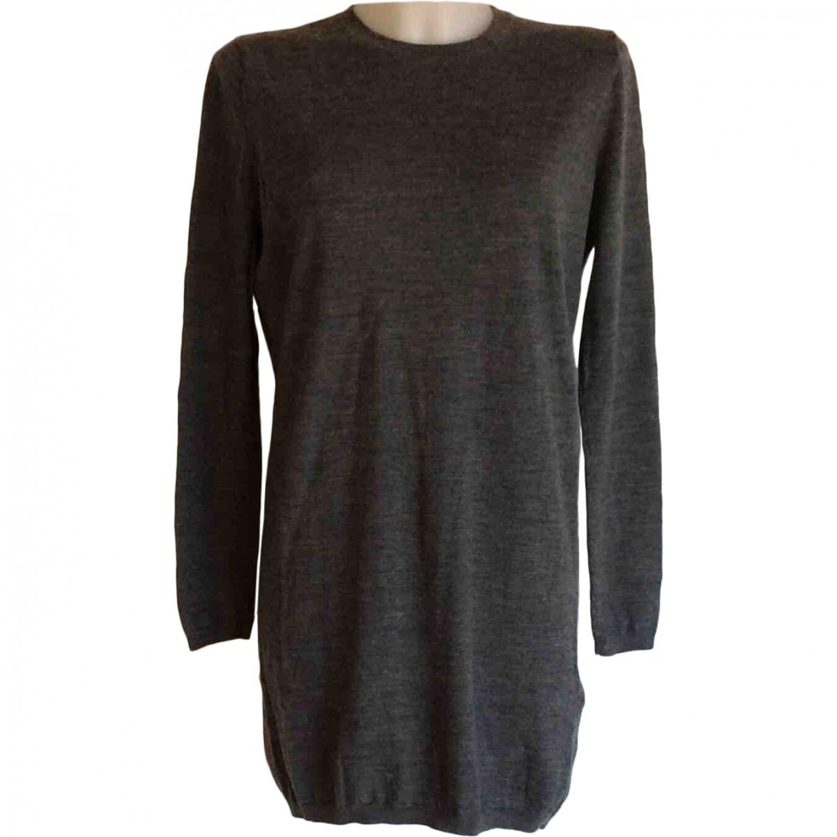 Samsoe & Samsoe \N Pullover in  Grau Wolle