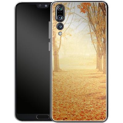 Huawei P20 Pro Silikon Handyhuelle - Fog von Joy StClaire