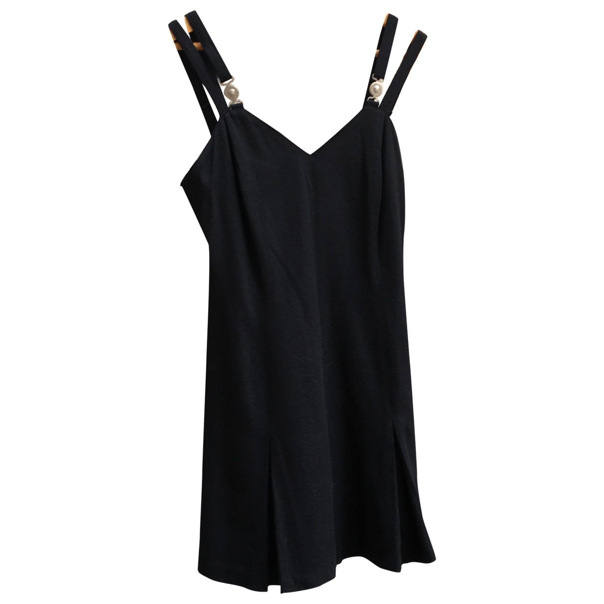 Versace Jeans \N Kleid in  Schwarz Viskose