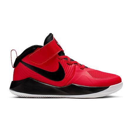 Nike Hustle Little Kids Unisex Sneakers, 1 Medium, Red