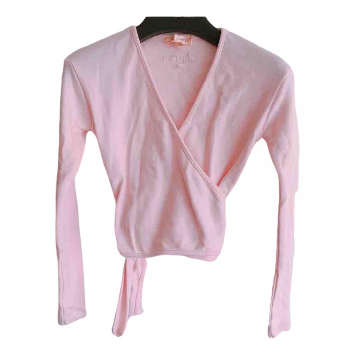 Repetto - Pull   pour enfant en coton - rose