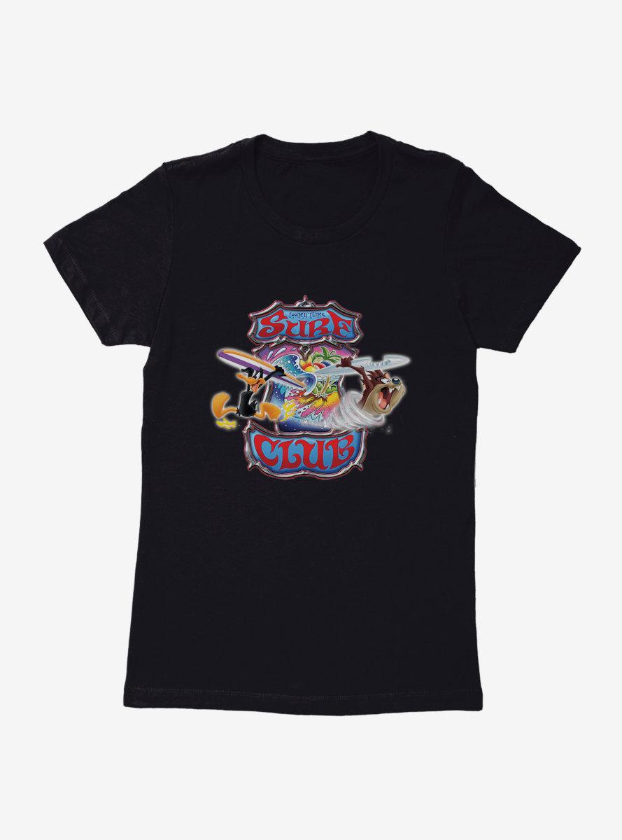 Looney Tunes Surf Club Neon Womens T-Shirt