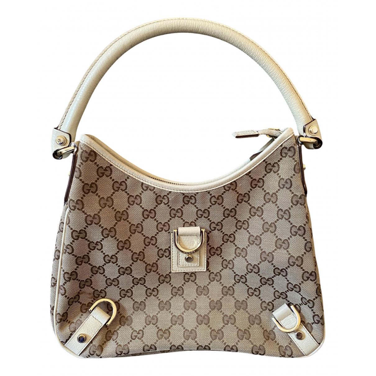 Gucci N Beige Cloth handbag for Women N