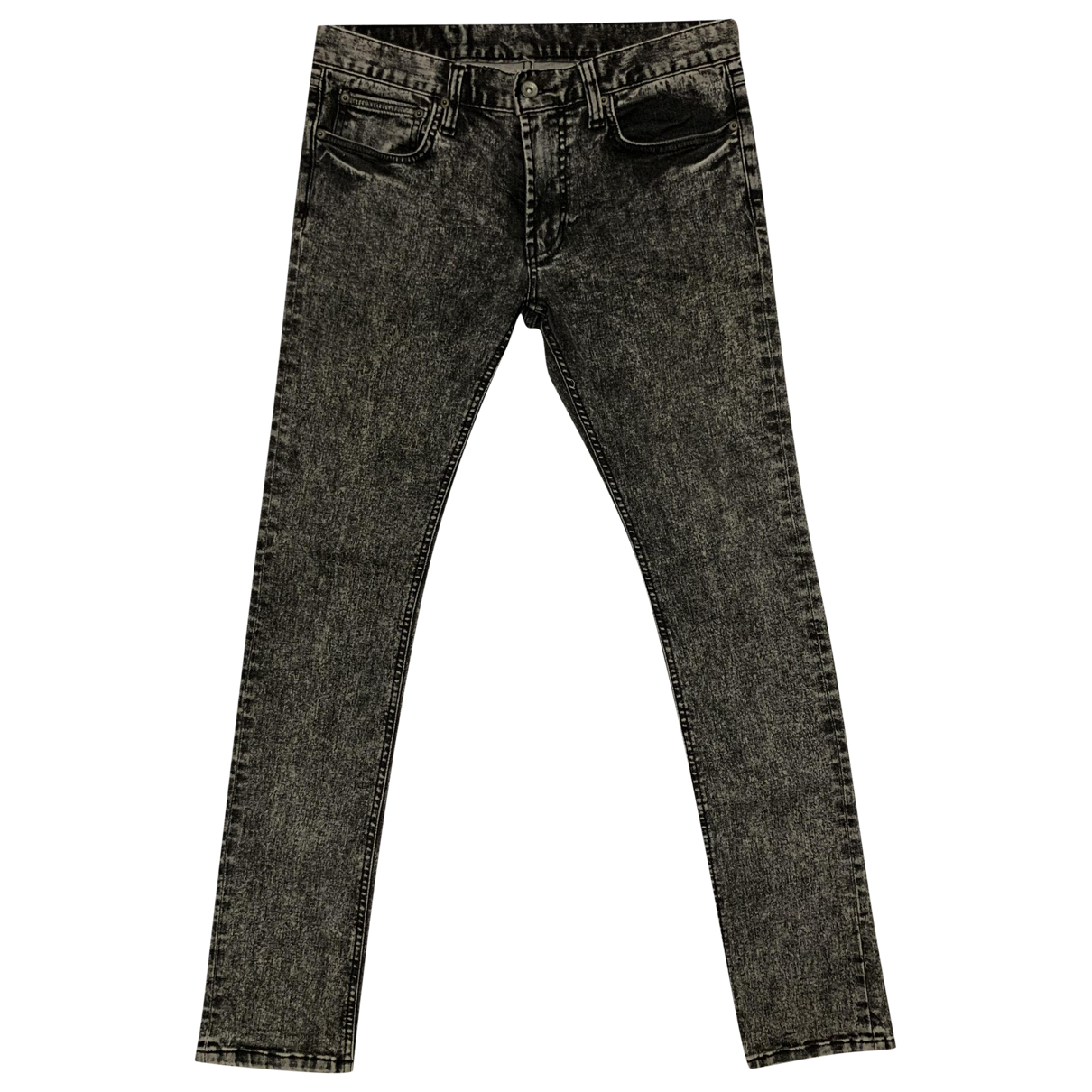 Hysteric Galmour \N Black Cotton - elasthane Jeans for Men 31 US
