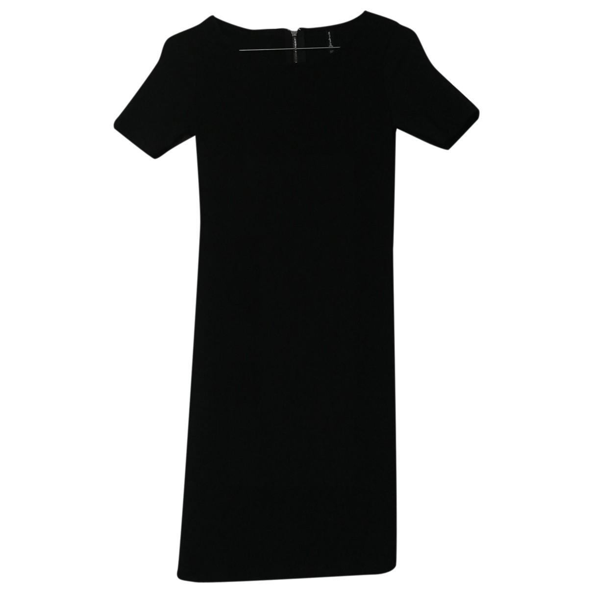 Non Signé / Unsigned \N Black Cotton - elasthane dress for Women M International