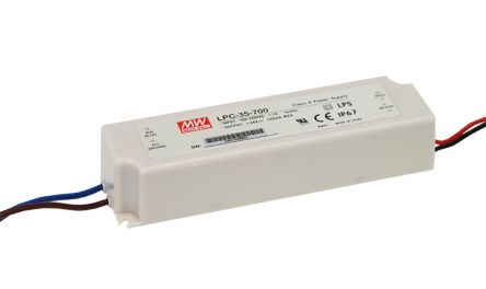 Mean Well Constant Current LED Driver 33.6W 9 → 24V