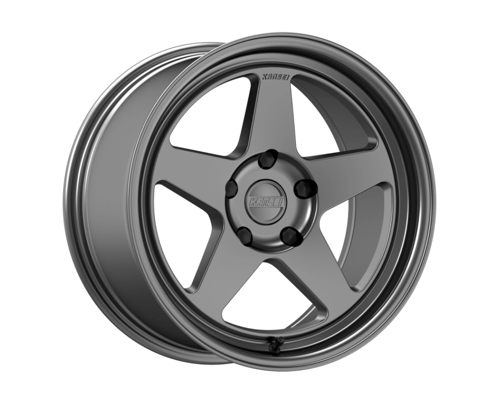 Kansei KNP Wheel 18x9 5x114.3 35mm Gloss Gunmetal