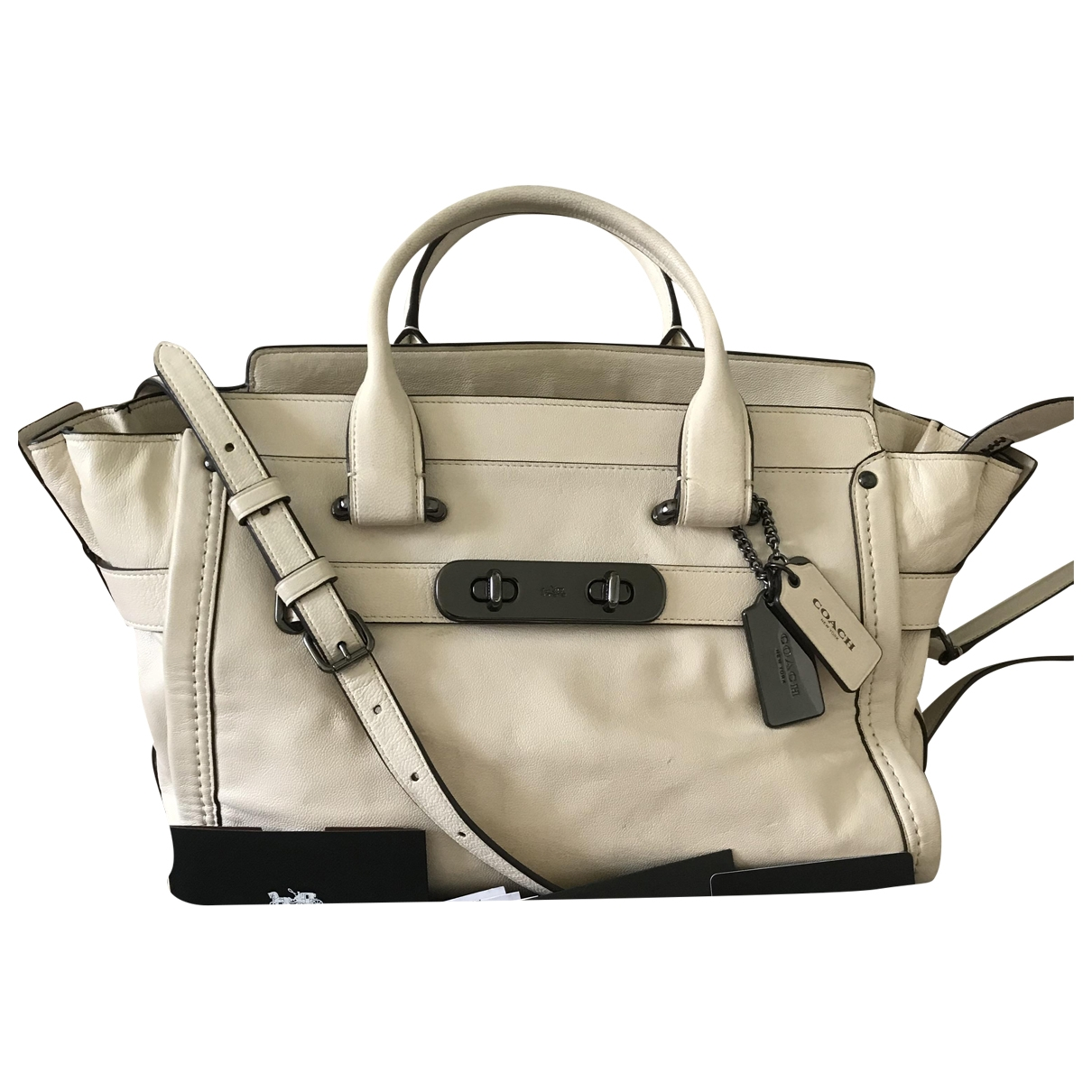Bolso  Borough Bag de Cuero Coach