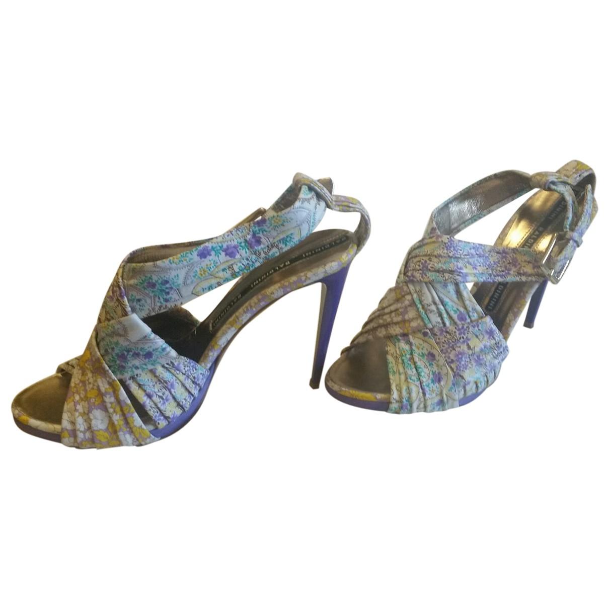 Sandalias de Lona Baldinini