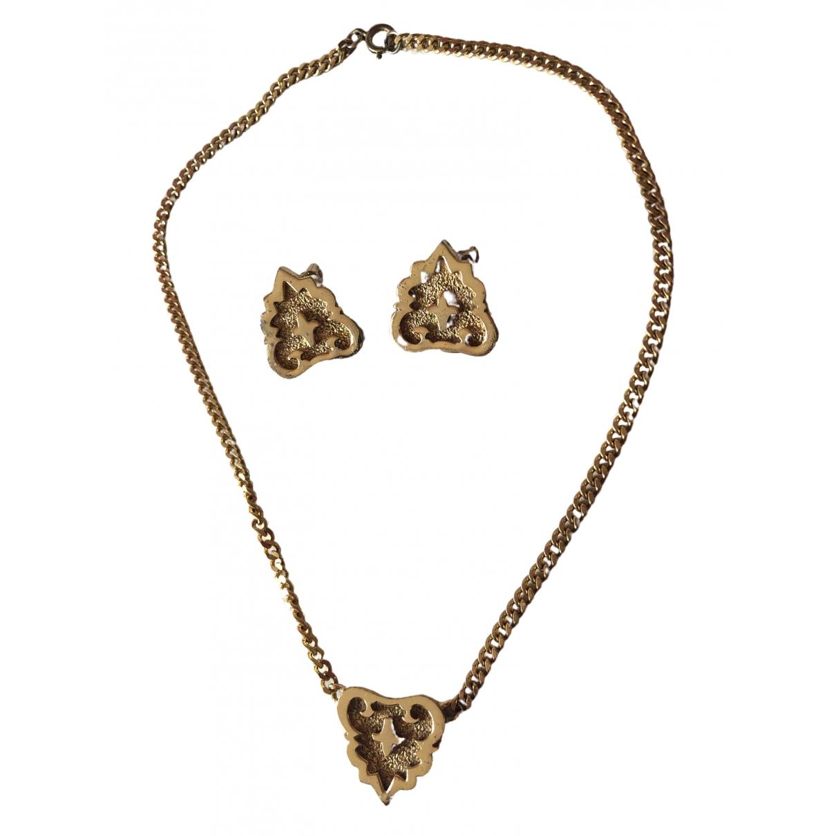 Balmain \N Schmuck-set in  Gold Metall