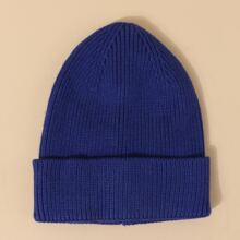 Guys Solid Beanie
