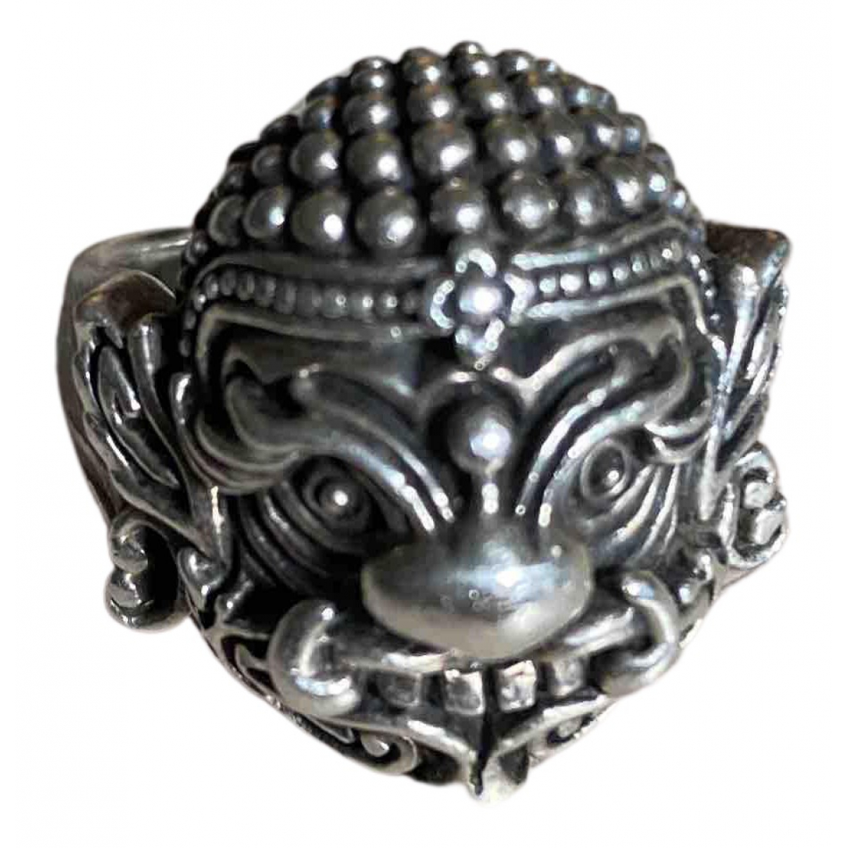 Non Signé / Unsigned N Anthracite Silver Jewellery for Men N