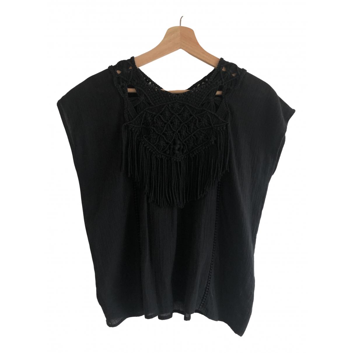Ulla Johnson - Top   pour femme en coton - noir