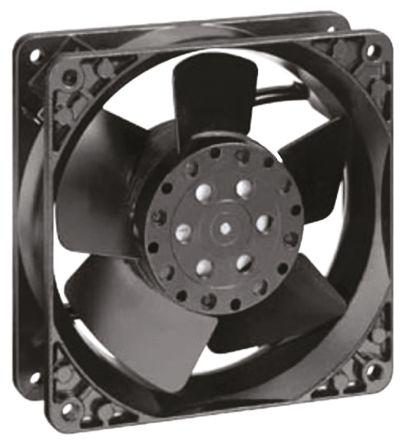 ebm-papst , 115 V ac, AC Axial Fan, 119 x 119 x 38mm, 105m³/h, 12W