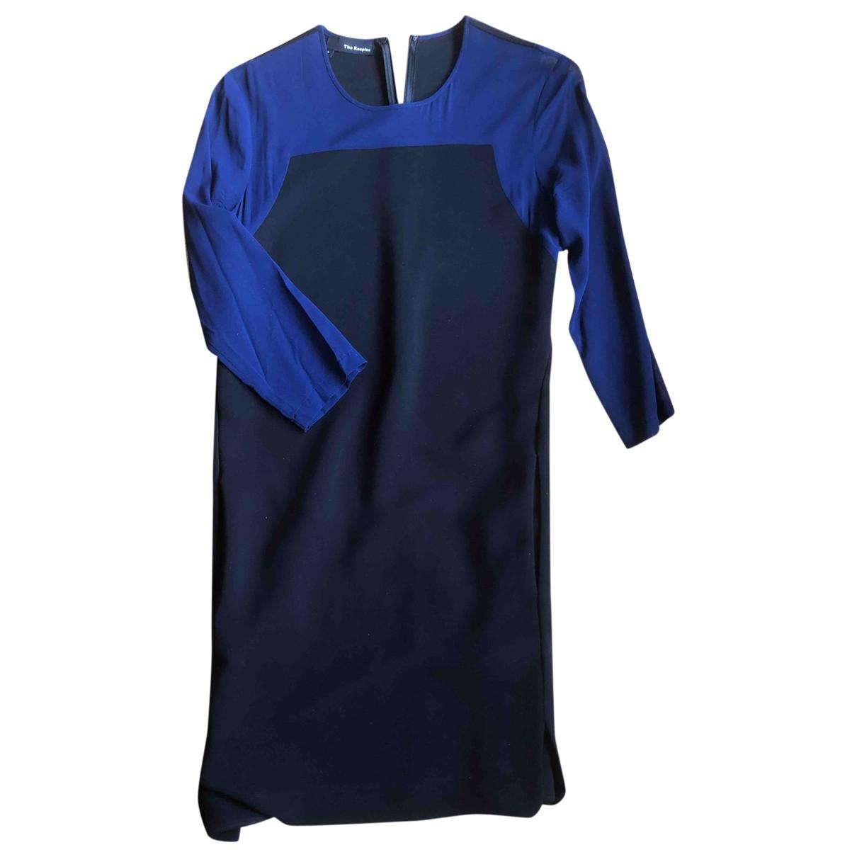 The Kooples - Robe   pour femme en soie - noir