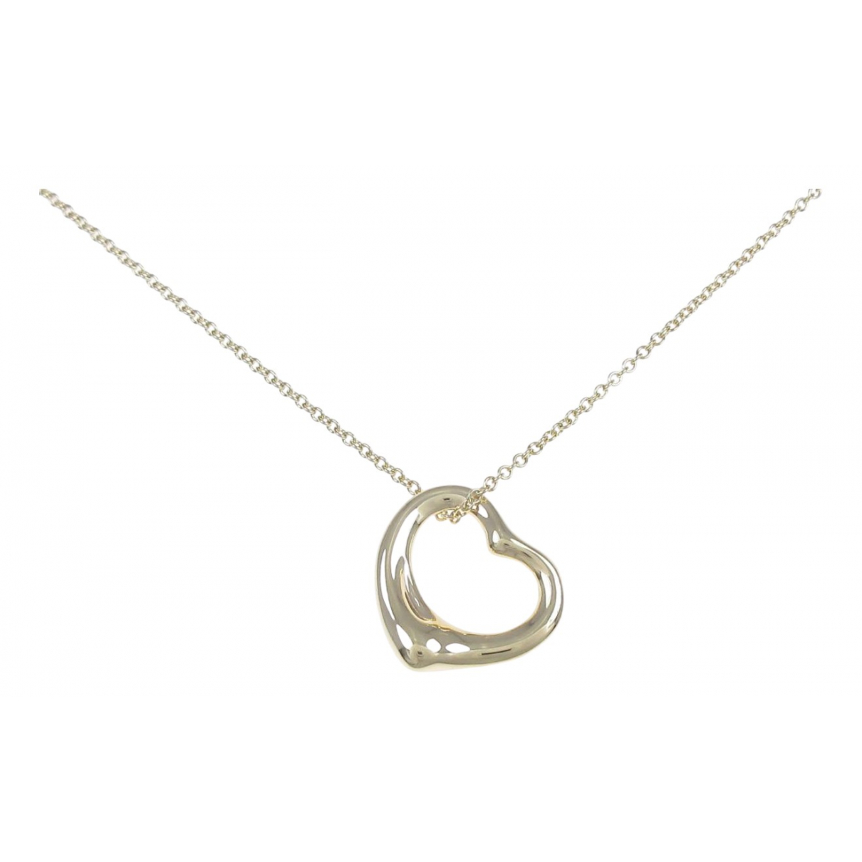 Tiffany & Co Elsa Peretti  Silver Yellow gold necklace for Women \N