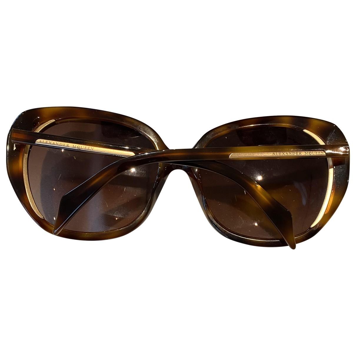 Alexander Mcqueen \N Brown Sunglasses for Women \N