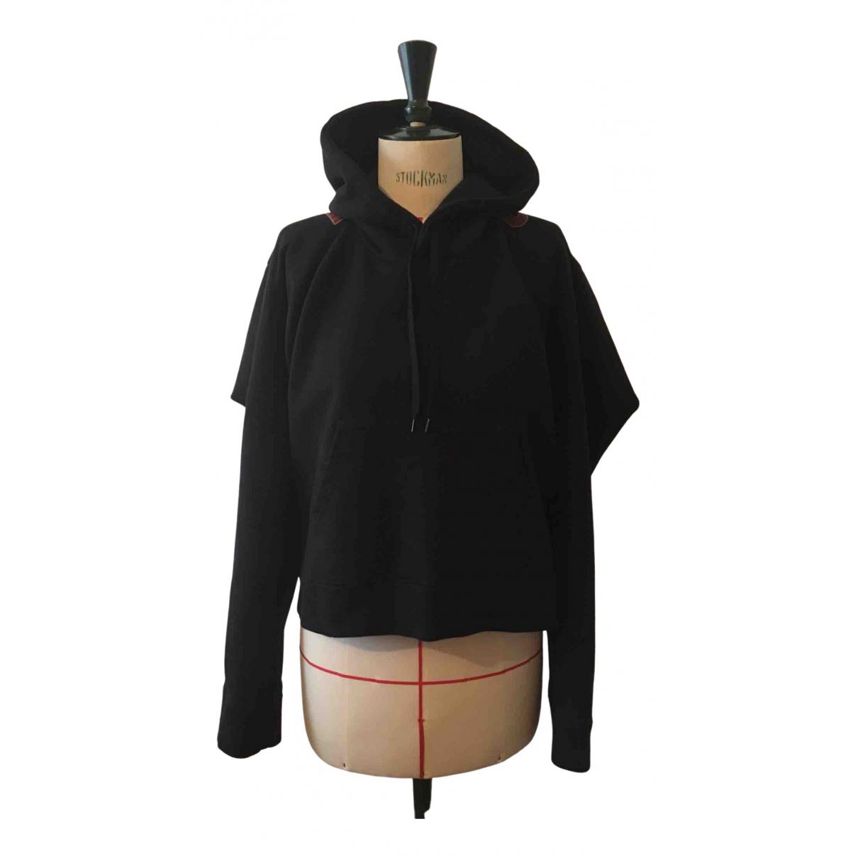 Vetements \N Pullover in  Schwarz Baumwolle