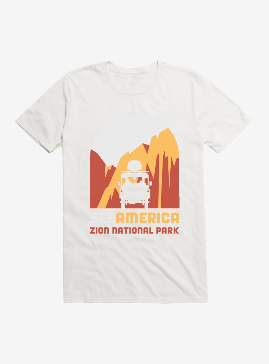 See America Zion National Park T-Shirt