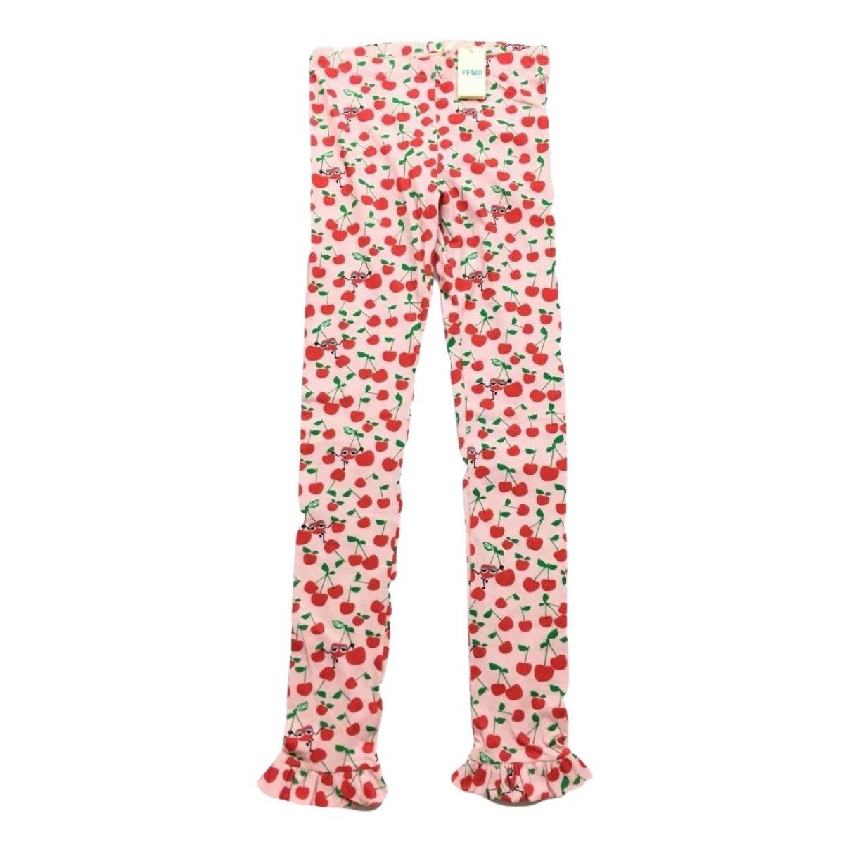 Fendi - Pantalon   pour enfant en coton - rose