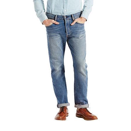 Levi's Mens Mid Rise 501 Straight Leg Jean, 36 36, Blue