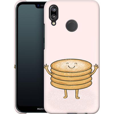Huawei P20 Lite Smartphone Huelle - Pancake-man with Sugar von caseable Designs