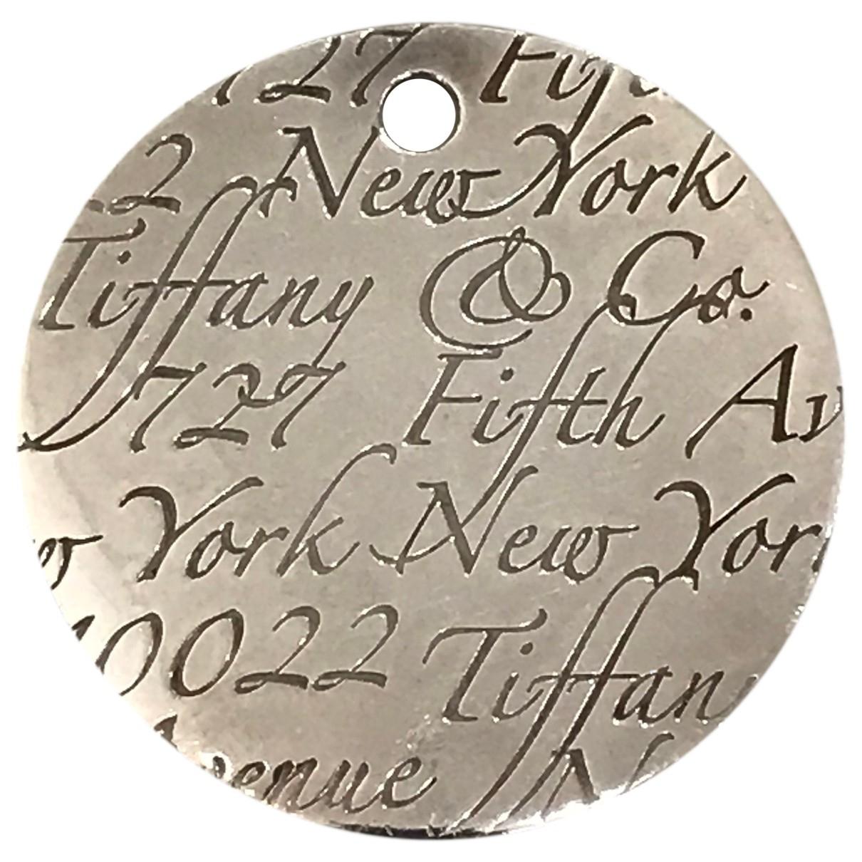 Tiffany & Co \N Anhaenger in  Orange Silber
