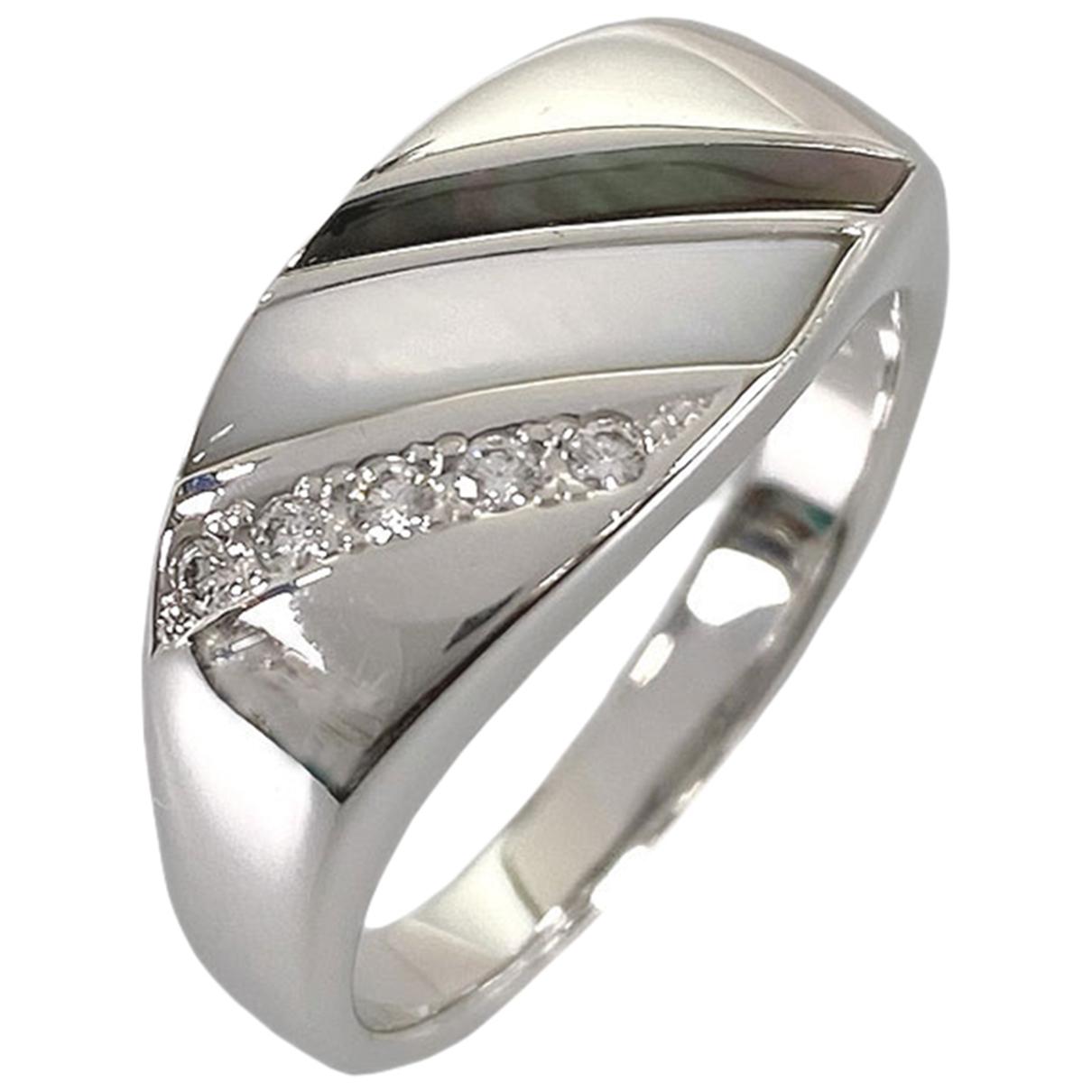 Tasaki \N Ring in  Silber Weissgold