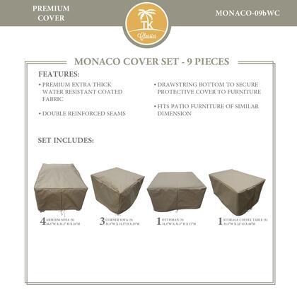 MONACO-09bWC Protective Cover Set  for MONACO-09b in
