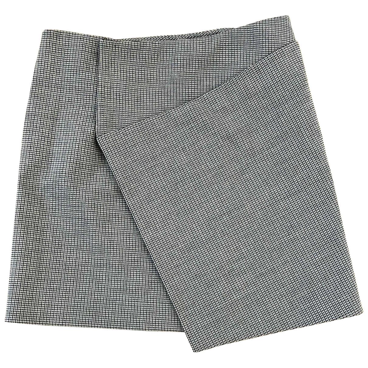 Balenciaga \N Grey Wool skirt for Women 38 FR